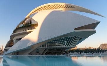 Opera at Ciutat de les Arts i les Ciencies