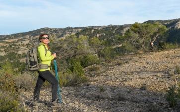 Isabel the hiker