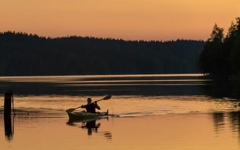 Midnight Canoe