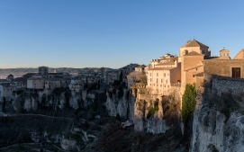 Cuenca hit by the first light