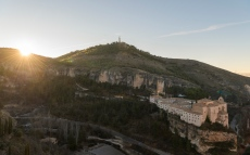 Sunrise over Cuenca