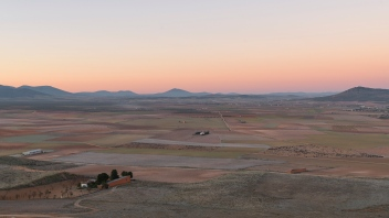 Landscape around Consuegra