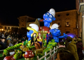 Three Kings parade in Ubeda