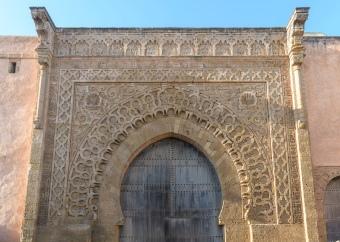 Entrance to Rabat Kasbah