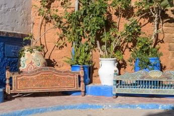 Streets in the Rabat Kasbah