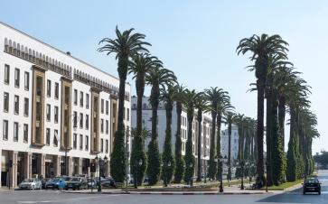 Boulevards of Rabat