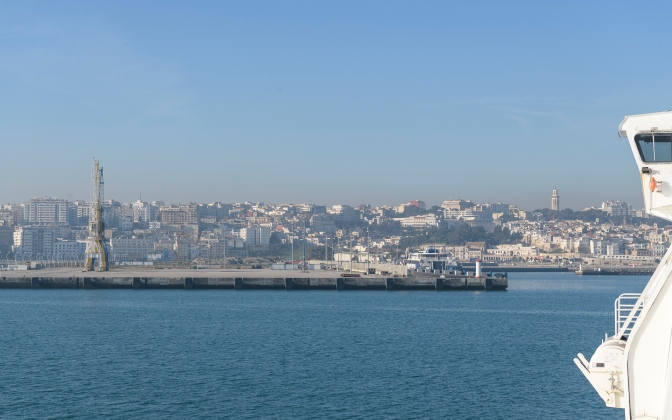 Tangier Skyline