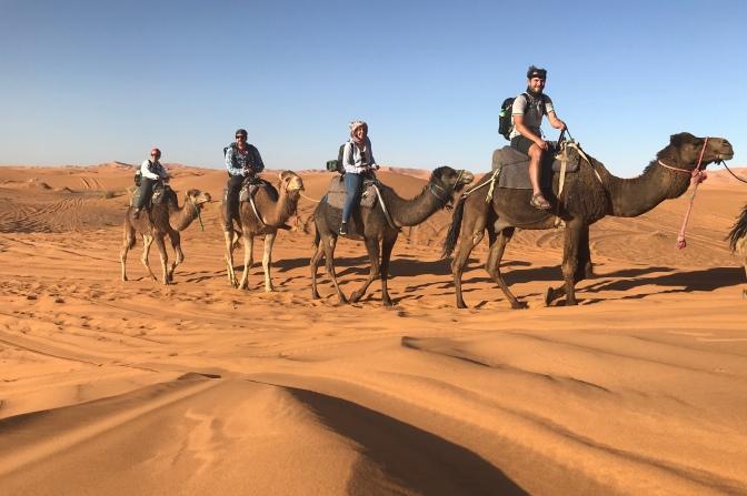 Sonny, Yael, Christian & Isabel's Camel Caravan