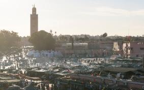 Djemaa El-Fna square