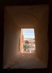 Inside Taouirt Kasbah