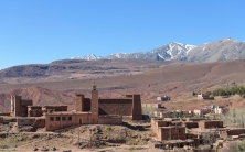 Along the road to Ouarzazate