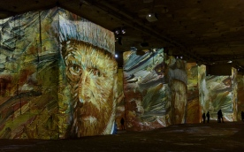 Van Gogh Exhibition - Carrieres des Lumieres