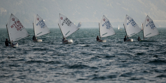 Regatta at Lago Garda