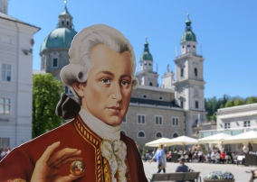 Mozart and his famous Chocolate balls