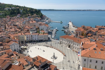 Piran from above