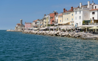Piran by the sea