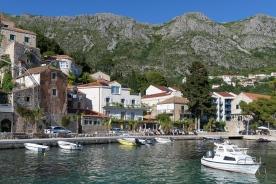 Little harbor in Mlini