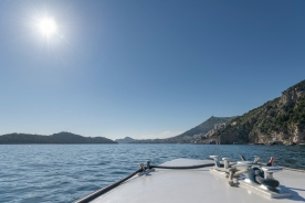Boat ride to Dubrovnik