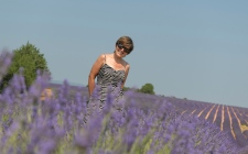 Isabel in the Lavender Fields